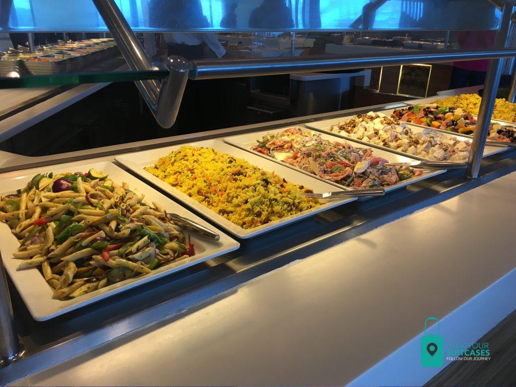 Buffet at Oceanview Café.