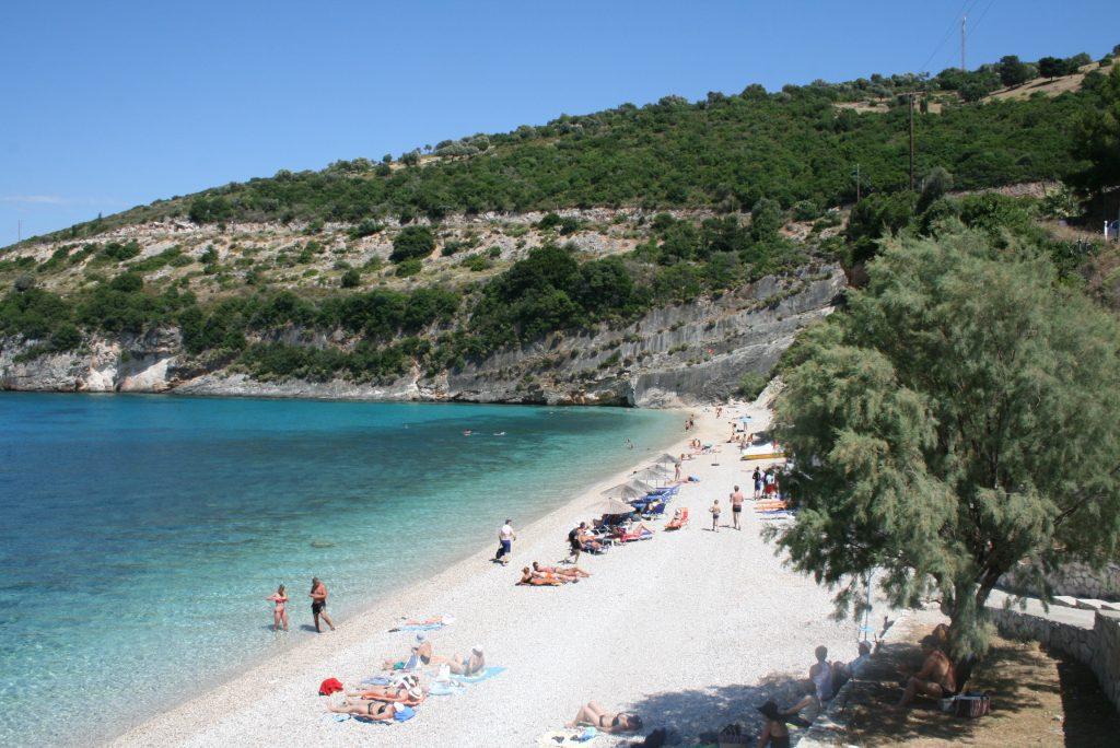 Zakynthos' beautiful beaches.