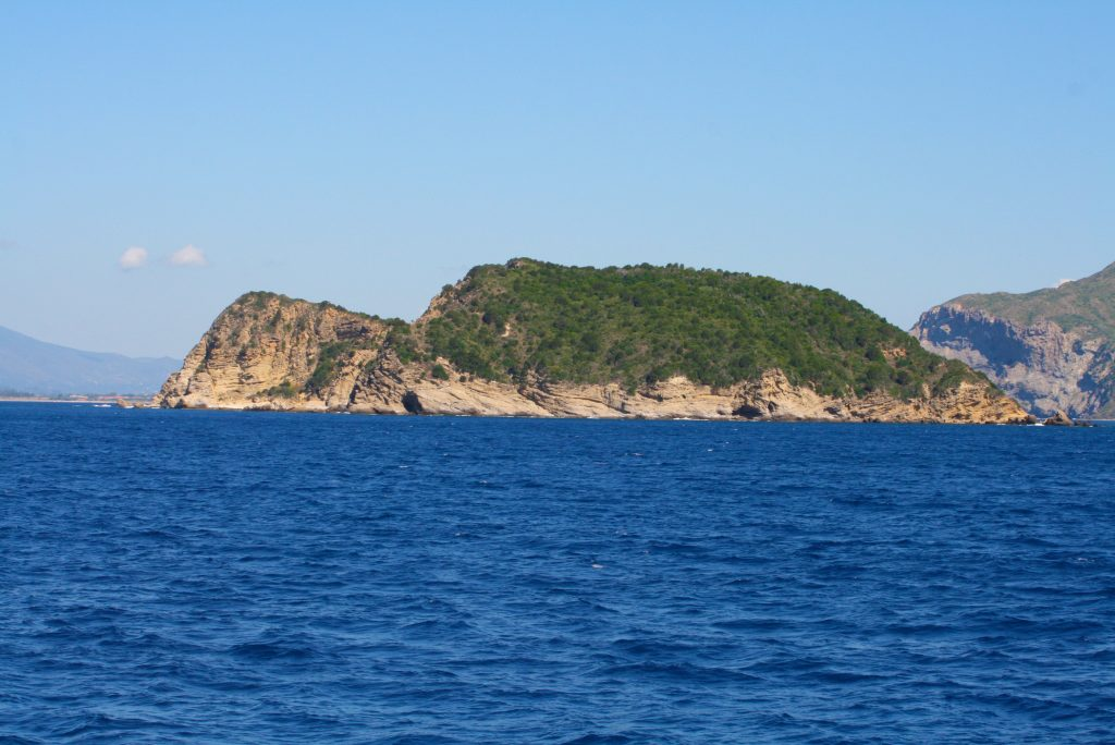 Marathonissi island.