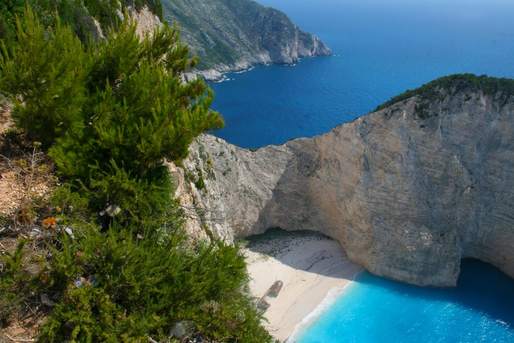 Navagio beach/shipwreck beach Zakynthos, Greece.