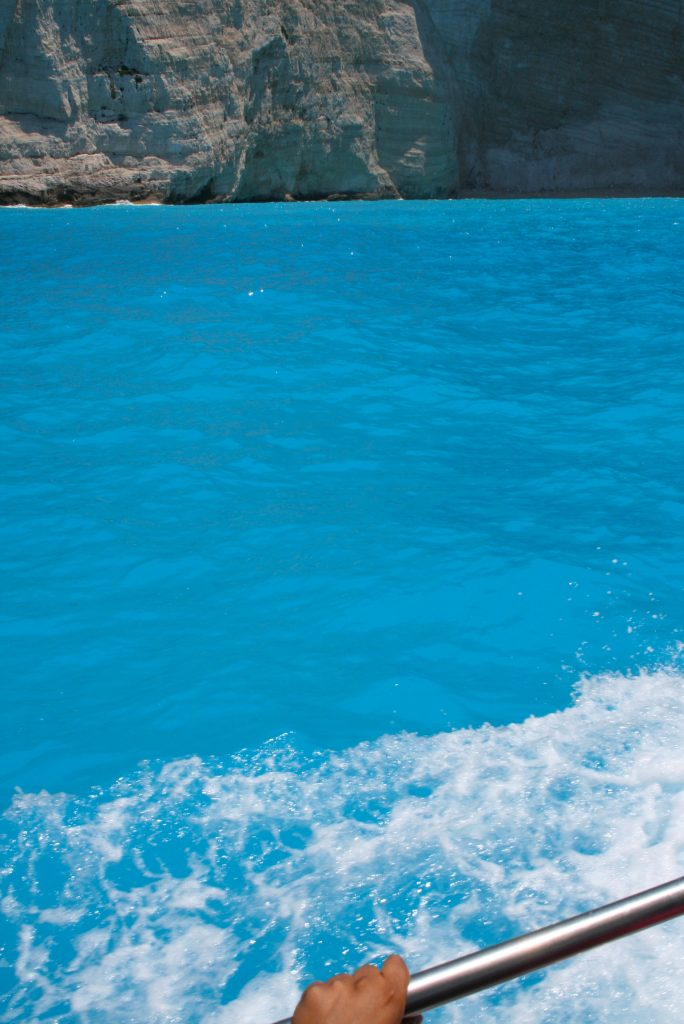 Bluest water in Europe.