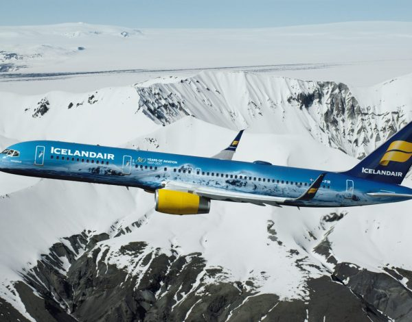 Take a flight on Icelandair's 'coolest' airplane ever!