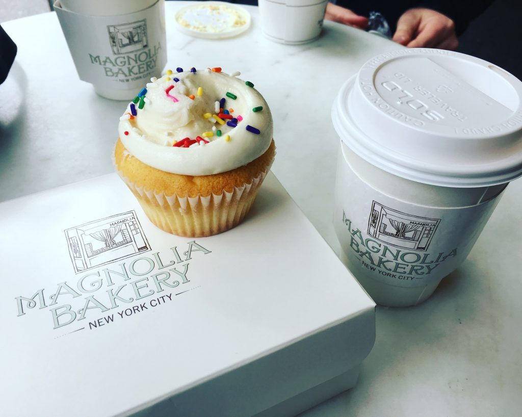 Magnolia Bakery cupcake
