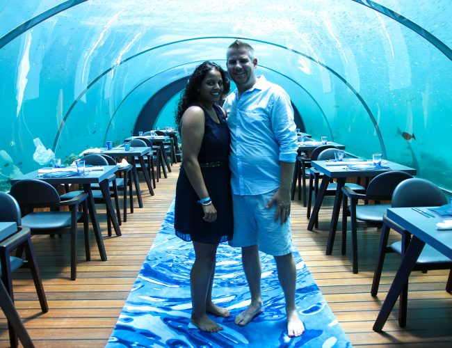 Our experience at 5.8 undersea restaurant